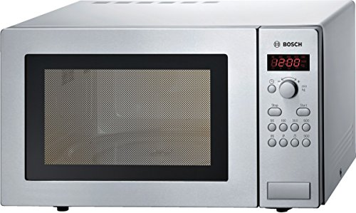 Bosch HMT84M451 Stainless Steel Series 4 Microwave, 25 Litre