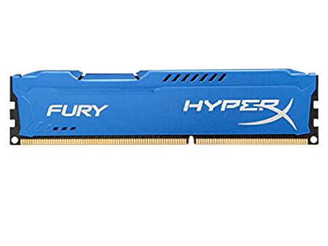 HyperX - Fury DDR3 - HX316C10F/8 - Mémoire RAM - 8Go - Bleu