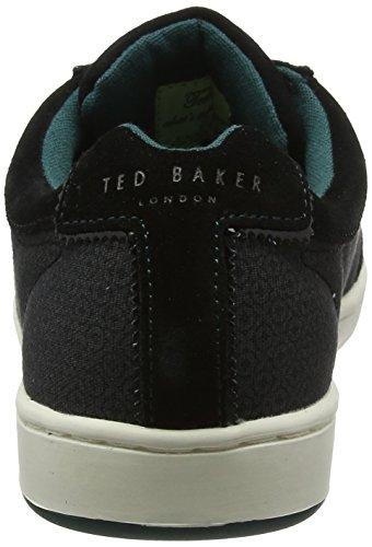 Ted Baker Kiefer Text Am Black, Sneaker Uomo Nero (Black)
