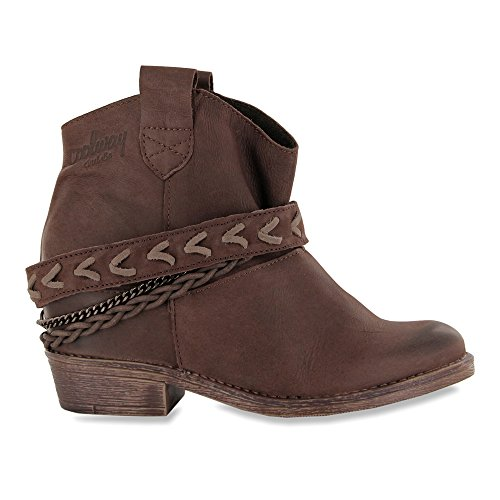 Coolway Caliope Cuir Bottine brown