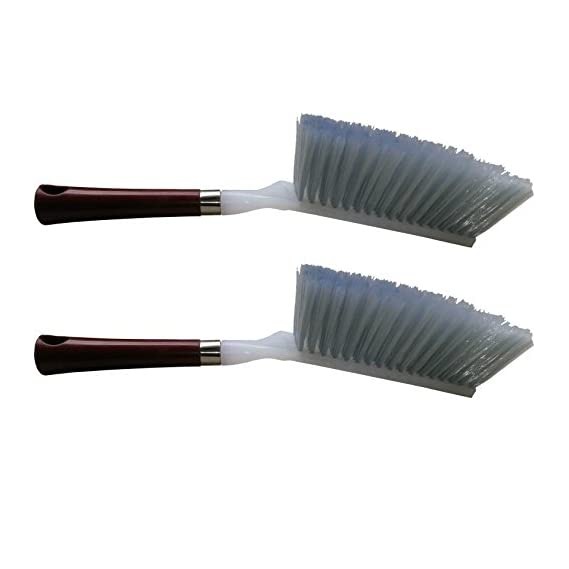 Cleaning Brush,Duster With Hard & Long Bristles For Car Seat/ Carpet / Mats (02 pcs.)