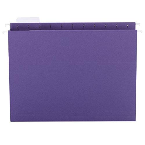 SMEAD 64056Designer Sortiment zum Aufhängen Ordner Letter violett