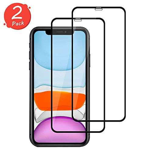 Satacnut [2-Pack] Protector Pantalla Compatible iPhone
