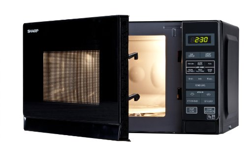 Sharp 20 Litre Solo Microwave, Black