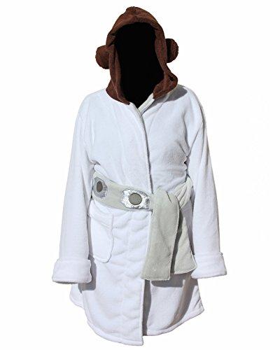 Star-Wars-Princesa-Leia-para-mujer-forro-polar-albornoz-y-traje-de-bao-Cover-Up