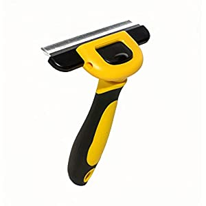 Deshedding-Tool-Pet-Grooming-Brush-for-Large-Medium-Small-Dogs-Cats-and-Horses-with-Long-or-Short-hair-Reduces-all-Shedding-in-less-than-10-Minutes
