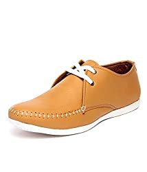 Rosso Italiano Men Tan Synthetic Loafers & Mocassins-7
