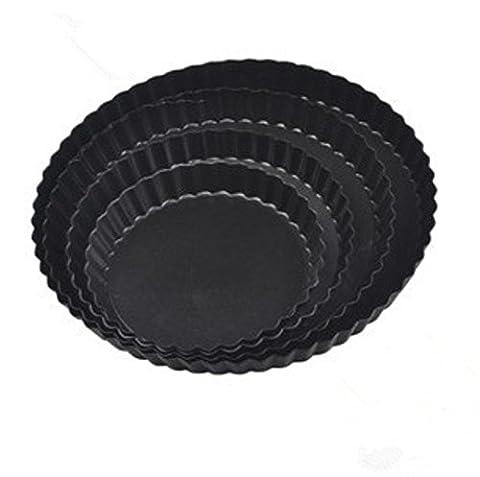 Aluminium Kuchenform Antihaftbeschichtung Pie Gericht Pflaumen Pie Pan nicht berühren, 280MM 2St