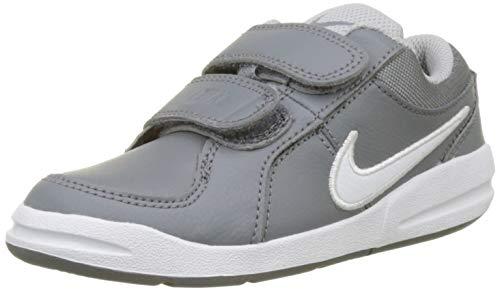 Nike Pico 4 (PSV), Scarpe da Tennis Bambino, Grigio (Cool White/Wolf Grey 022), 32 EU