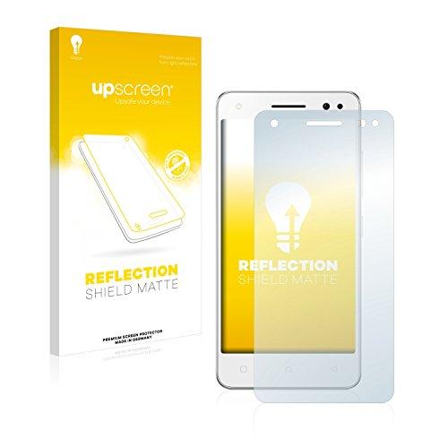 upscreen Entspiegelungs-Schutzfolie kompatibel mit Lenovo Vibe S1 Lite - Anti-Reflex Bildschirmschutz-Folie Matt