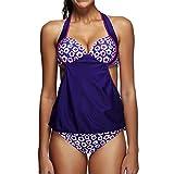Luckycat Conjunto para Mujer, Bañadores Bikinis/Push-Up Padded Bra Bikini/Traje De Baño Mujer/Deportivos Bañador