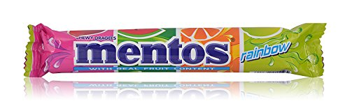 Mentos Chocolate - Rainbow Stick, 31.2g Pack