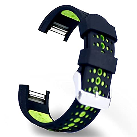 Sunface Fitbit Charge 2 Strap Band, Sports Silicone Replacement Wristband