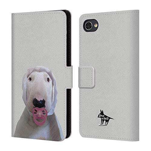 Head Case Designs Offizielle Jimmy The Bull Schnuller Foto 2 Leder Brieftaschen Huelle kompatibel mit BlackBerry Motion (Schnuller Motion)