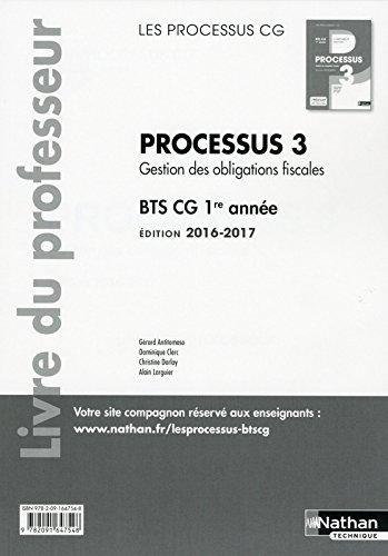 Processus 3 BTS CG 1re année