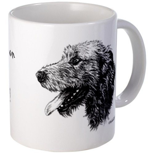 CafePress - Happiness is an Irish Wolfhound Mug - Unique Coffee Mug, 11oz Coffee Cup, Tea Cup by CafePress