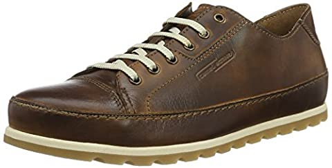 camel active Herren Point 11 Derby, Braun (Brandy 07), 43 EU
