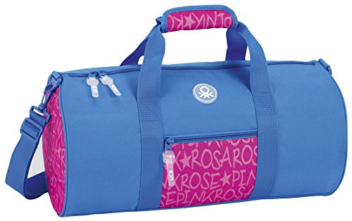 safta 711751787Beutel, Girls, Blau/Pink, 50cm