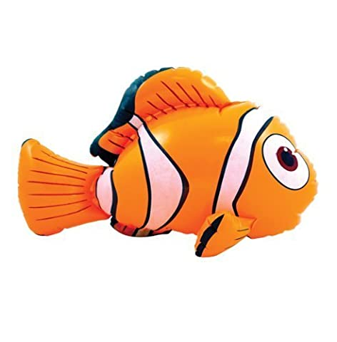 2 x gonflable 45 cm Nemo Poisson clown