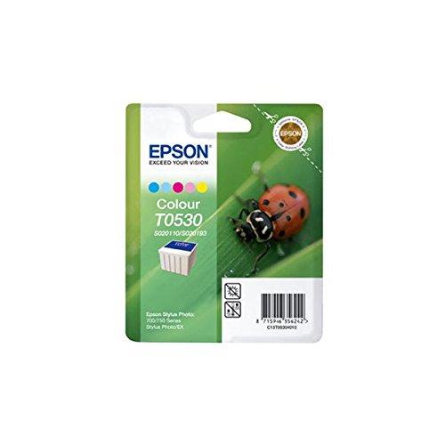 Epson T0530 Cartouche d'encre d'origine 5 Couleurs