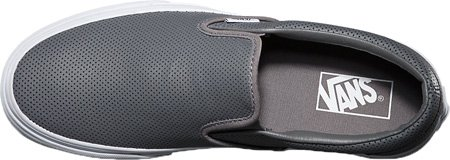 Vans U CLASSIC SLIP-ON WOOL SPORT Sneaker basse, Uomo Grau ((Perf Leather) smoked pearl)