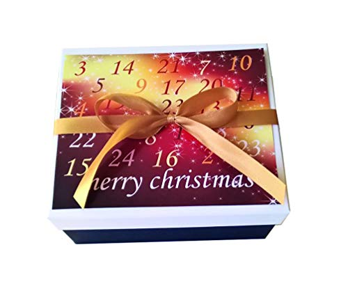 Adventskalender Box - 24 tolle Überraschungen für eine entspannte Weihnachtszeit
