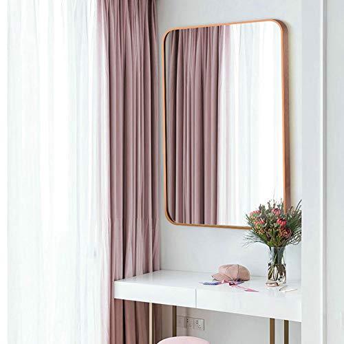 AP.DISHU Espejos De Baño Montados En La Pared Dormitorio Salón Maquillaje Espejo Espejo para Vestirse...
