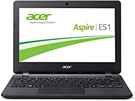 Acer Aspire ES1-331-C6S6 33,8 cm (13,3 Zoll HD) Notebook (Intel Celeron N3050, 2,2GHz, 2GB RAM, 32GB eMMC, Intel HD Graphics, Windows 10 Home) schwarz