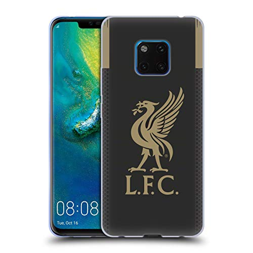 Head Case Designs Offizielle Liverpool Football Club Home Torwart 2019/20 Kit Soft Gel Huelle kompatibel mit Huawei Mate 20 Pro - Soft Case Kit
