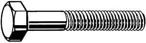Zoro Tools DIN960 Sechskant-Schrauben, Stahl, 10,8 m18 x 1,5 x 150 tg48 mm, 10 Stück