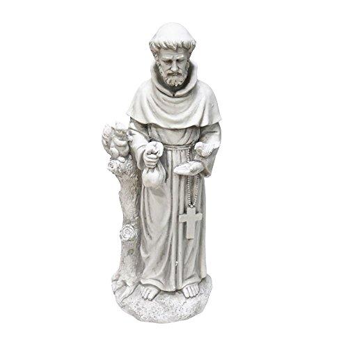 Alpine Corporation qfc10278,7cm St. Francis Statue