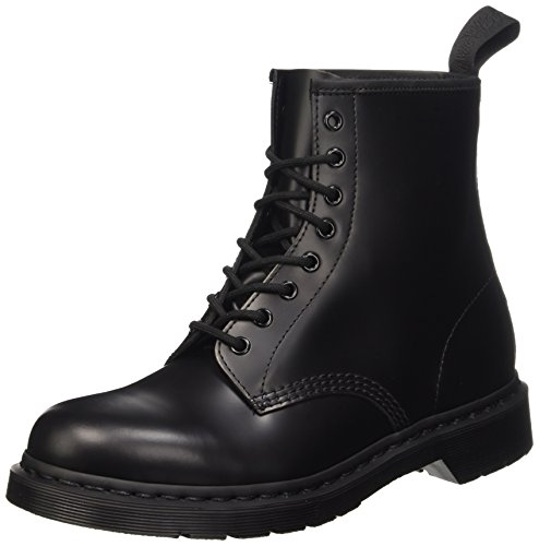 Dr Martens Unisex-Adult Monochrome 1460 Black Lace Up Boot 14353001 8 UK