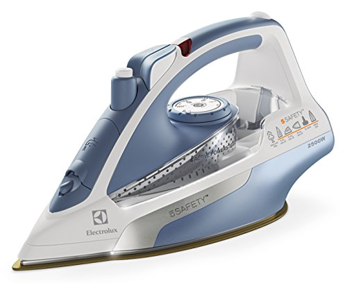 Electrolux EDB8050 - Plancha (Plancha vapor-seco, 3 m, Azul, Blanco, 0,45 g/min, 0,400 L, 2500 W)