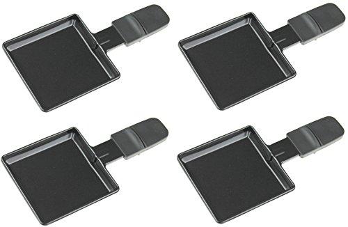 (Cuatro) Severin 7468048Sartenes para rg2341/rg2343Raclette