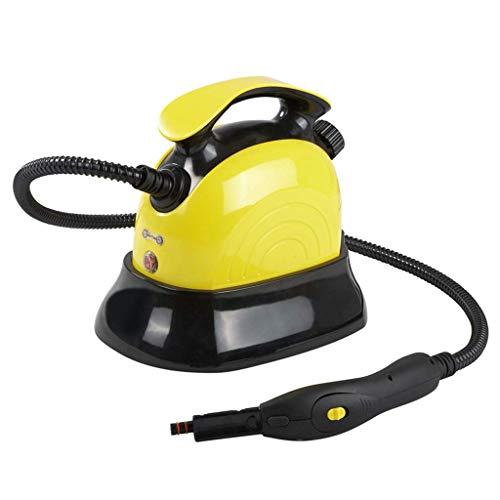 Nettoyeur à vapeur Portable - Système de Nettoyage Domestique avec 10 Accessoires de Nettoyage Multifonctions - Convient pour intérieur et extérieur - 1500W / 1100ML