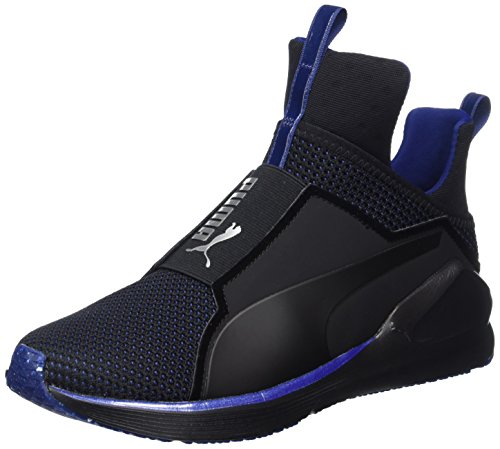 Puma Fierce Velvet VR, Chaussures de Fitness Femme, Black-Icelandicblue, 0 EU