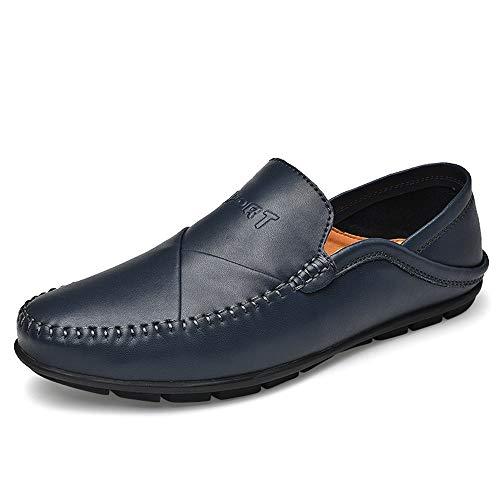 Lässige und bequeme Bootsschuhe Driving Loafers Für Herren Gommino Slip On Echtes Leder Erfahren Genähte Superweiche Flache Schuhe Klassische Moderne Lug Sohle Zwei Wear Design Penny Schuhe Klassische -