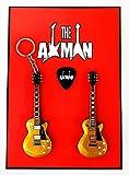 Axman Joe Bonamassa – Les Paul Gold Top Studio: Schlüsselanhänger und Magnet