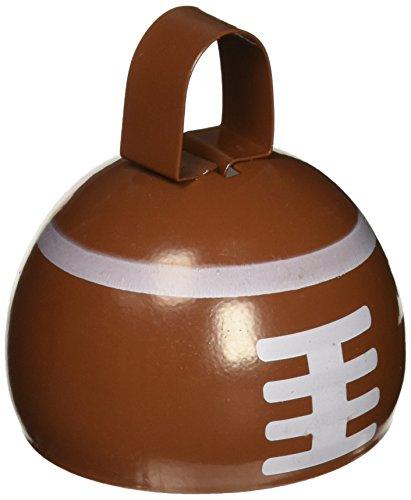 Beistle 609451er Pack Fußball Cowbell für kleine Geschenke, 3–1/4-Zoll