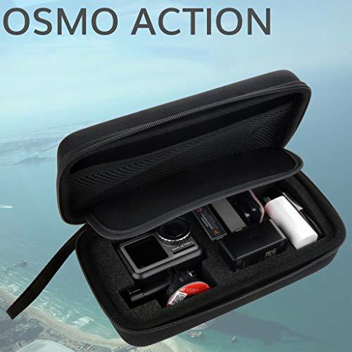 Dkings Tragetasche für DJI Osmo Action Extra-Small, Tragetasche für DJI OSMO Action-Kamera und Zubehör, Sicherheitsschutztasche, Aufbewahrungslösung für von Abenteurern verbesserten Innenschaum