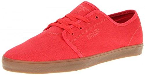Fallen Skateboard Schuhe Daze Rot, Schuhgrösse:42 -