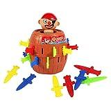 YASSON Kinderspiel Pop Up Pirate Spielzeug Hochwertiges Aktionsspiel Weihnachten Geburtstag Geschenkfür die ganze Familie Neubeborene Kinder ab 4 Jahre alt