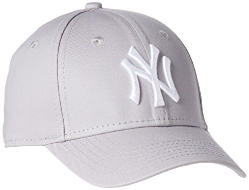 New Era Jungen Baseball Cap Mütze MLB Basic 9 Forty Adjustable,Grey/White,CHLD,10879075