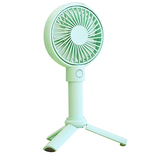 2000 mAh Multifunktions einstellbare tragbare Mini persönliche wiederaufladbare Lüfter mit USB Ladekabel für Home Office Travel Outdoor Sommer Desktop Handheld Fan