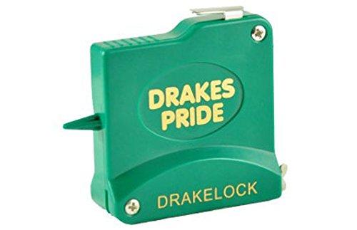 Drakes Pride Vert 10m ruban drakelock Mètre en acier Bols/mesure * * * * * * * * * * * * * * * *