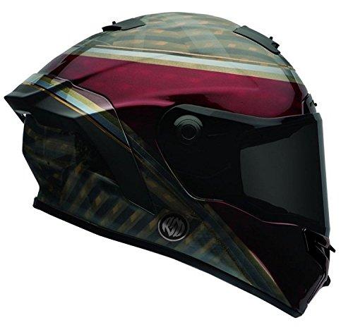 17Star Erwachsene Helm, RSD Blast dunkelrot/schwarz, Größe S ()