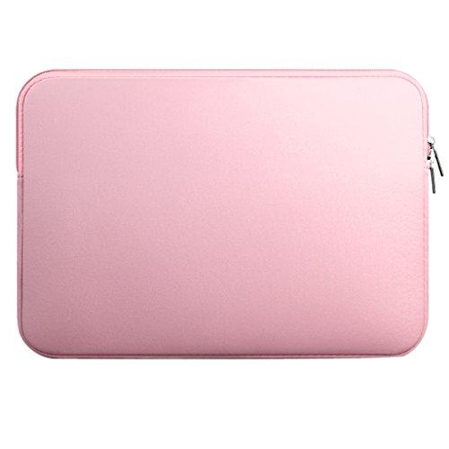 Laptop Hülle Tragetasche Schutzhülle Laptophülle Laptop Tasche für Macbook Mac Air/Pro/Retina - Rosa, 13 Zoll