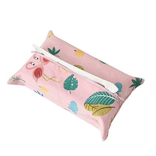 Leisial willow a forma di lino tessuti box lovely tessuto decorazione di porta tovaglioli di carta del bagno di carta di pompaggio kleenex dispenser per casa scuola ufficio bagno auto viaggio