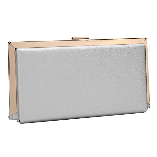 SSMK Evening Bag, Poschette giorno donna Light Grey