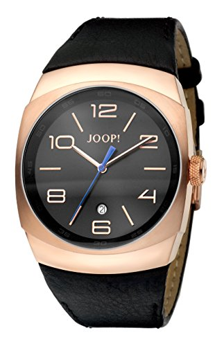 Joop! Damen-Armbanduhr Analog Quarz Leder JP100681F01